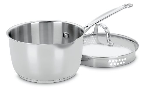 Cuisinart Stainless 2-Quart Saucepan with Cover