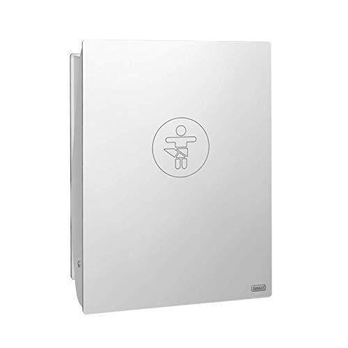 Klappbarer Wickeltisch KAWAHPL Elegant Design White zur Wandmontage von Timkid