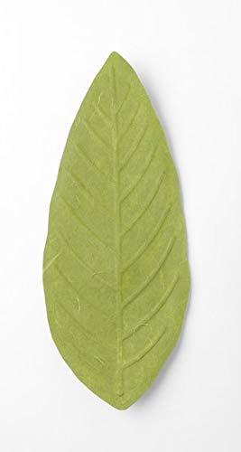 Flexible Hanji-Papierschale Blatt Grün – Ablage / Servierschale aus traditionellem Hanji-: Leicht, formbar und wasserabweisend