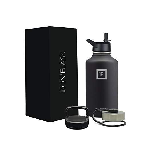 Iron Flask 64 Oz Black