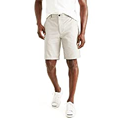 top 10 dockers underwear Dockers Men's Perfect Short, Khaki Porcelain (Cotton), 40W