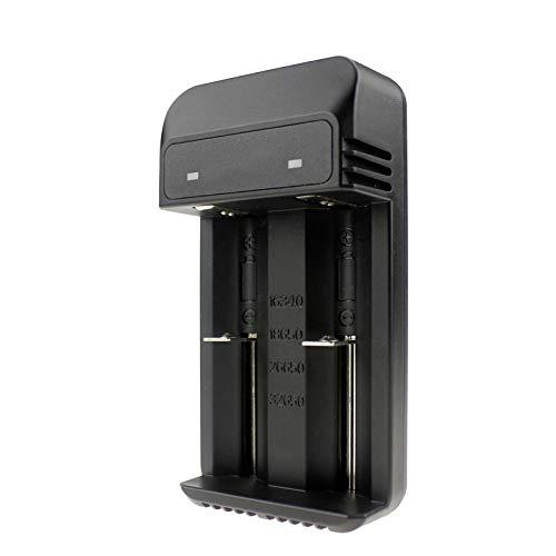 Preisvergleich Produktbild Adanse Dual Solts Smart LadegerT für 32650 26650 18650 17670 16340 (Cr123A) Lithium Batterie
