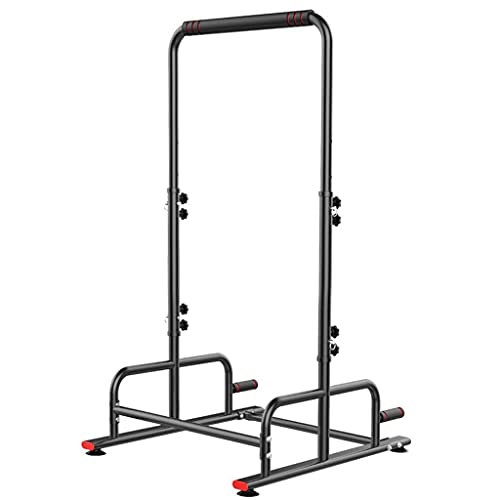 XiYou Barras paralelas Pull-ups Barra Horizontal para Deportes en Interiores domésticos artículos Deportivos Fitness Barra Horizontal para dominadas en Interiores (Negro, 100 * 60 * 220cm)