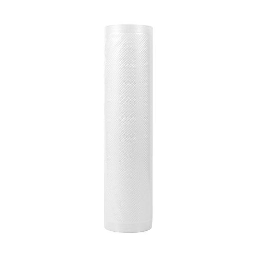 SANJIJIfeididna Vakuum Sealer Väskor Mat Saver Lagring Väska För Mat Saver Perfekt För Vac Förvaring Måltid Prep Eller Sous Vide Återanvänds För Alla Vaccum Mat Tätningsmaskiner(20Cmx500cm)