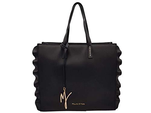 MANILA GRACE borsa Daisy grande nero B200EU