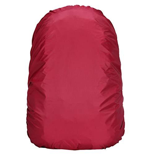 BESSKY Trekkingrucksack wasserdichte Rucksackhülle Camping Wandern Outdoor Rucksack Regen Staub Wanderrucksack mit Innengestell und Regenschutz,80L