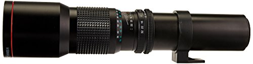 500mm F8.0 Multi Coated telephoto Lens
