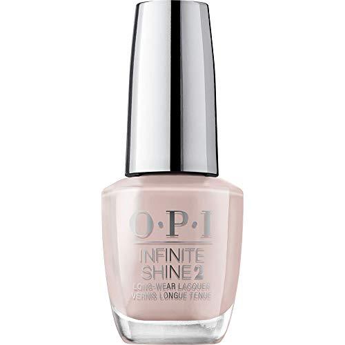 OPI Infinite Shine 2 Long-Wear Lacquer, Substantially Tan, Nude Long-Lasting Nail Polish, 0.5 fl oz