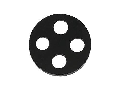 EHR Dichtung aus Viton f. Kraftstoffhahn, 4-Loch D=17,7mm