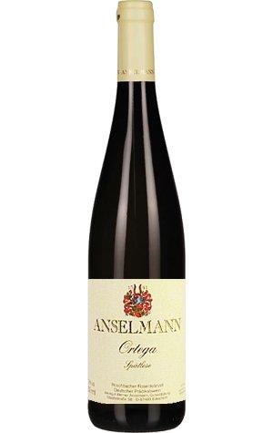 Anselmann Ortega Spätlese 2018 Weißwein halbsüß 0,75 L
