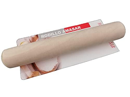 Rodillo Amasar Cocina Amasadora Repostería Manual Amasadora Pequeño Mini Madera Niños Adultos Accesorios Repostería Pastelería Pan Masa Pizza Pasta Fuerte Profesional Fondant
