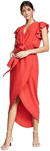 Amanda Uprichard Women s Martinique Dress Lipstick Red Medium product image