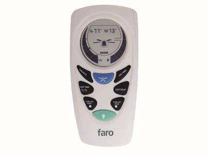Faro Barcelona 33937 - Kit mando a distancia ventilador con programador