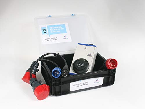 Renault ZOE 11kW TYP2 Ladecontroller Lader Notladeadapter CEE 16A Drehstrom Nissan Leaf - 2
