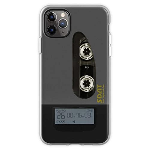 Fundas para teléfono Pure Clear TPU Slim Protective Compatible para iPhone Samsung Xiaomi Redmi Note 10 Pro/Note 9/8/9A/Poco M3 Pro/Poco X3 Pro Funda Shinjis Sdat Player Ver