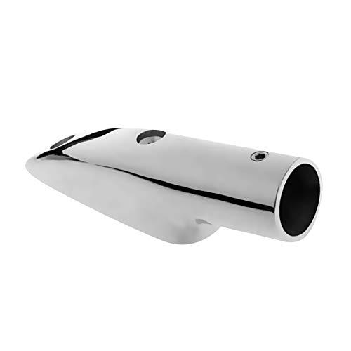 BDZC Yate de Barco Montaje en la Cubierta del Barco Fin de riel de Mano Fin de Hardware para 7/8'22mm Tube Fin