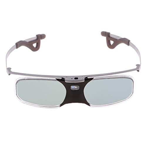 Gazechimp Lightweight Rechargeable DLP link 3D Glasses for All DLP HD 3D TVs RX-30 - Transparent