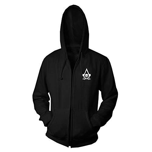 Assassin'S Creed Sudadera Estilo Simple Impreso Pullover Jumpers Sudaderas Transpirables Sudaderas Estampadas Manga Larga Assassin'S Creed Pullover