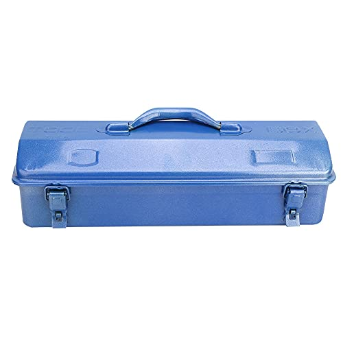 Telescópico Hierro Caja de herramientas, Cuadro con Hierro Azul;Hierro (Azul)