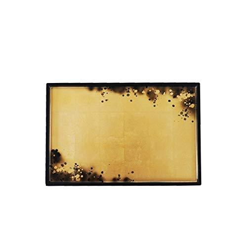 Conemmo New Vietnamese lacca Importato Ware Lamina d'oro Vassoio di Stampa Cinese Vassoio del tè Retro Luce High-End vano portaoggetti tavolino