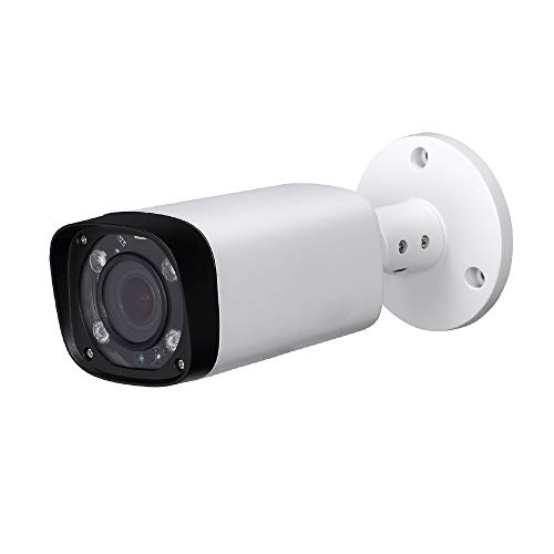 4MP Varifocal PoE IP Bullet Security Camera IPC-HFW4431R-Z 2.7mm~12mm VF Lens Motorized 4X Optical Zoom Outdoor Surveillance Camera,80m IR,Smart H.265,ONVIF,Waterproof,Compatible with Dahua Camera
