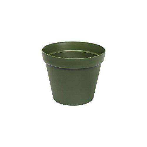 Vert couleur pot de fleur Patio mat, 11 cm diametre