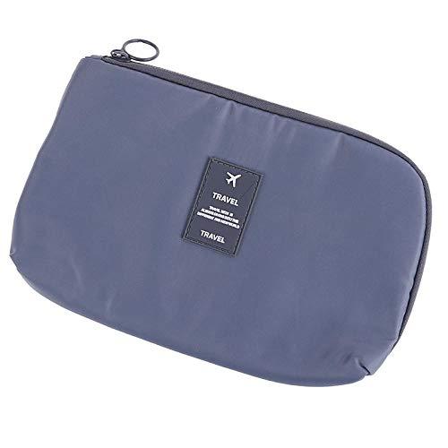 7 Styles Cosmetic Bag Travel Waterproof Portable Flamingo Makeup Bag Toiletry Women15 * 23CM-Grey_15 * 23CM