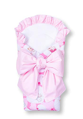 Amilian® Babyhörnchen Babynest Fußsack Baby Nest Babyhornchen 80x80 cm R18