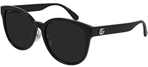 Gucci Gafas de Sol GG0854SK Black/Dark Grey 56/19/145 mujer