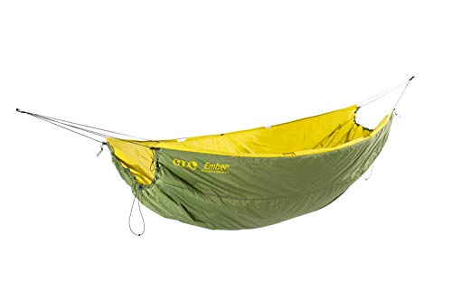 ENO, Eagles Nest Outfitters Ember UnderQuilt Hammock Insulation for Spring and Fall, Evergreen