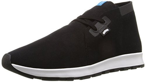 Native Shoes Men's Ap Chukka Hydro Boot, Jiffy Black/Jiffy Black/Shell White/Jiffy Rubber, 6 M US