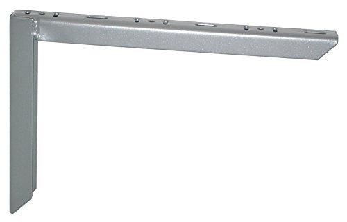 Element System 18133-00162 Schwerlastträger / 2 Farben / 3 Größen / 2 Stück / weißaluminium / 200 x 300 mm