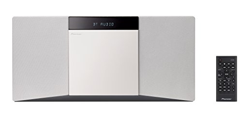 Pioneer X-SMC02D(W) Schlanke CD-Mikroanlage (Bluetooth, USB, FM, DAB, CD) Weiß