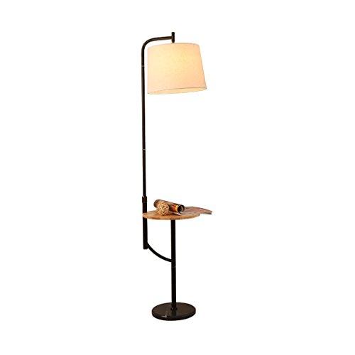 Staande lampen, staande lampen, moderne minimalistische ijzeren lampen, body van ronde marmeren sofa-vloerlamp, weefsel-lampen, kleur woonkamer, slaapkamer, nachtkastje, vloerlicht, type en We