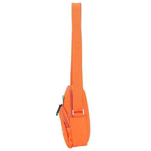 Mochila preescolar de tela de nailon para niños pequeños para cochecitos, bolsas de noche, verde y naranja(Orange)