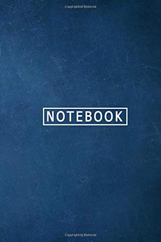 Bleu Notebook: Hardcover Deconstructed Journal, The Best Way to Get Something Done, blank notebook,bleu cover notebook