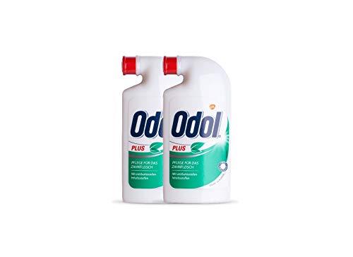 2x Odol Plus Mundspülung Konzentrat 125 ml