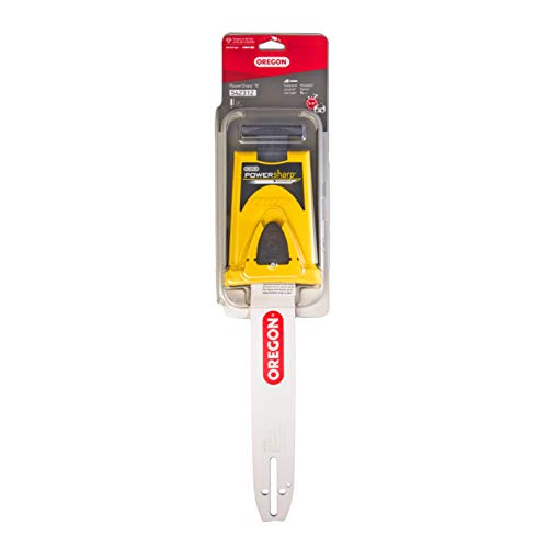 Oregon 542312 Powersharp guía de motosierra con afilador para eslabones, chain 52
