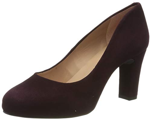 Unisa Damen Numis_Classic_f19_ks Pumps, Rot (Grape Grape), 38 EU