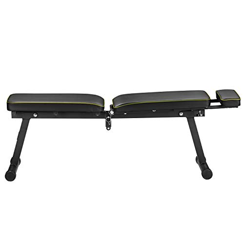 ZENOVA Adjustable Weight Bench Fast Folding, Strength Training Bench for Full Body Workout, Exercise Workout Bench for Home Gym Office Gym