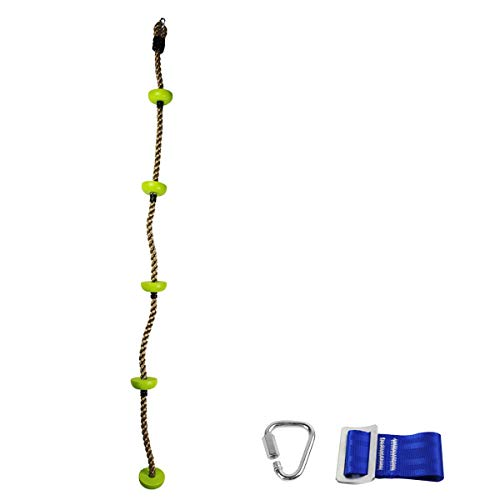 Discover Bargain Gentle Booms Sports Climbing Rope Swing Set Accessories for Active Outdoor Play Equ...