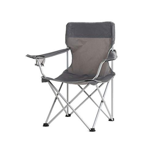 JIAAN Chaise de Camping Tabouret de pêche Chaise de Camping Fauteuil Pliable avec Porte-Boisson et Sac de Transport - Confortable,Structure Robuste,avec Porte-Bouteille,Chaise d'extérieur