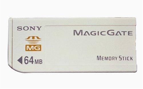 Sony 64MB MagicGate de Color Blanco de Memoria (conformes con de actualización de my Avert)