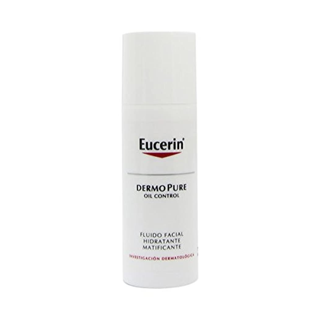 チップ乱暴な朝Eucerin Dermopure Oil Control Matifying And Moisturizing Fluid 50ml [並行輸入品]