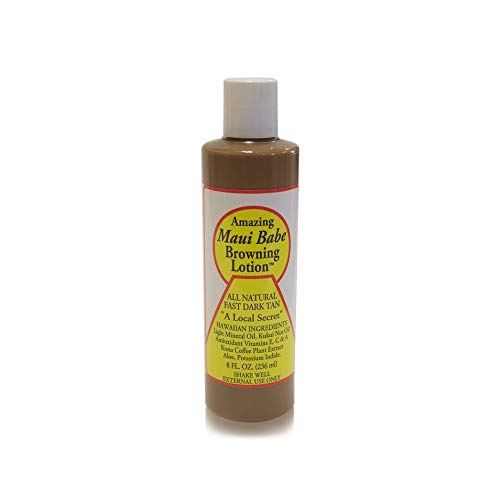 4. Maui Babe Browning Lotion