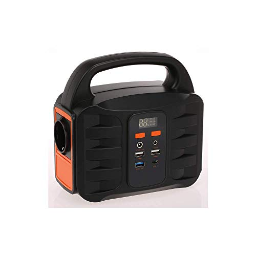 Office Supplies Accessories Portable Generator Power Station 155Wh Emergency Backup Lithium Battery Silent Gas Free Inverter USB Charge/Solar Generator