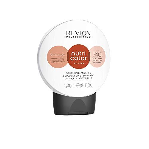 Revlon Professional Nutri Color Filters Tinte de Cabello 740 Light Copper 240 ml