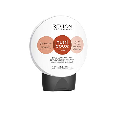 REVLON PROFESSIONAL Nutri Color Filters 740 Light Copper 240 ml