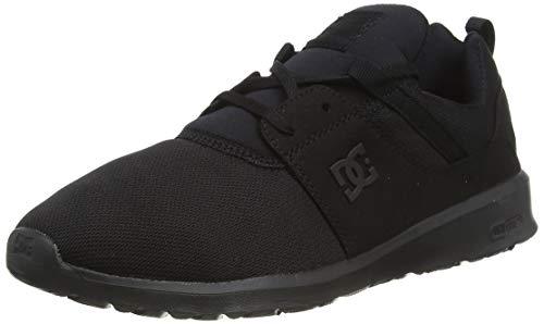 DC Shoes homme Heathrow - Low-top Shoes For Men Sneakers basses Noir 42 EU