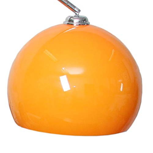 Mendler Schirm für Bogenlampe, Ø 40cm, Kunststoff - orange